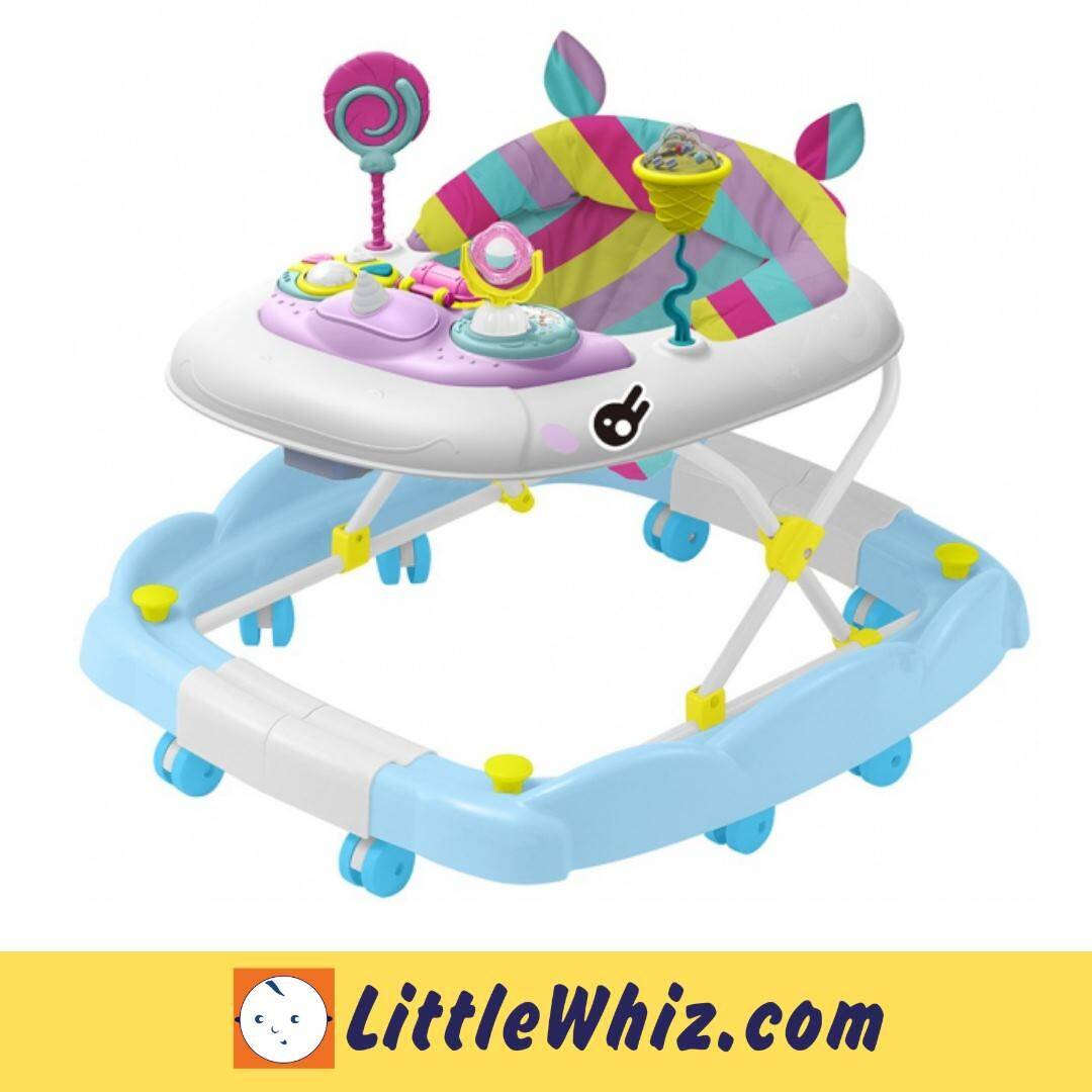Bubbles: 2 in 1 Baby Walker - Sweet Unicorn