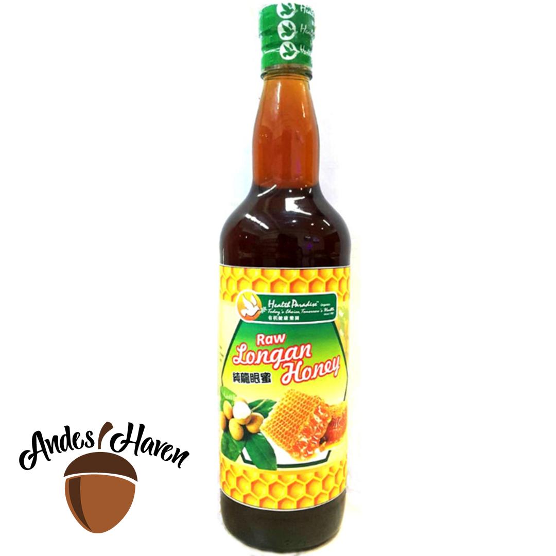 【Health Paradise】100% Raw Longan Honey 纯龙眼蜜 - 1kg