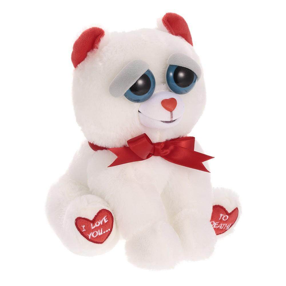 Feisty Pets Bear Taylor Truelove Feisty Films Adorable Plush Stuffed Toy Turn Feisty with a Squeeze Special Valentine's Gift