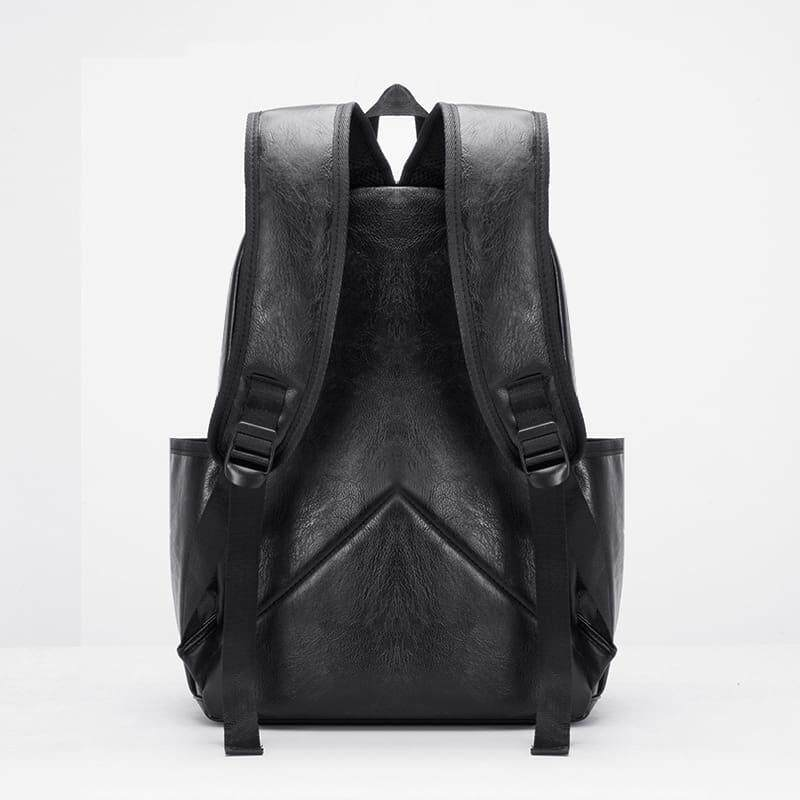 [M'sia Warehouse Direct] 2019 Korean Series Leather Laptop Backpack Business Bag Multipurpose Multifunctional Water Proof Stylish Travel Sling Student Bag Italy Designer Perfect Gift For Love One Fit For Macbook Ipad Tab