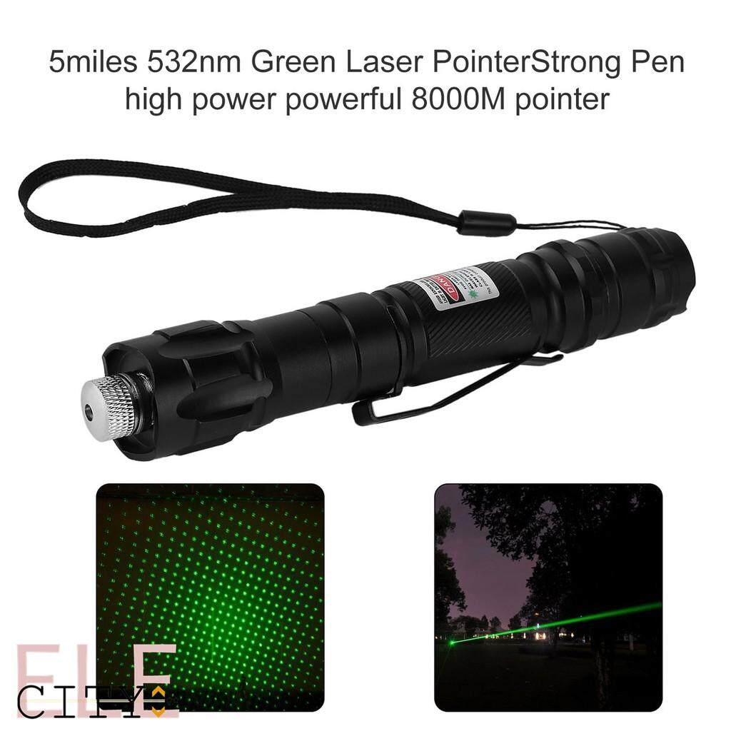 School & Office - Smiles 532nm Green Laser PointerStrong Pen 8000M pointer - Stationery