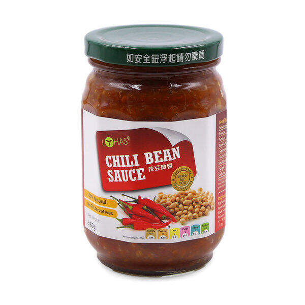 Lohas Chili Bean Sauce 380G - Twin Pack