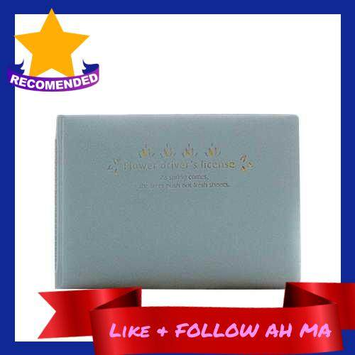 Best Selling Lovely Fresh Candy Color Cards Storage Bag (Blue)