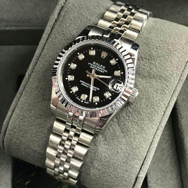 34mm Busines Rolex_Datejust_Fully Automatic Women Watch Unique Good Looking Design New Arrival Date Display Free Genuine Gift Box