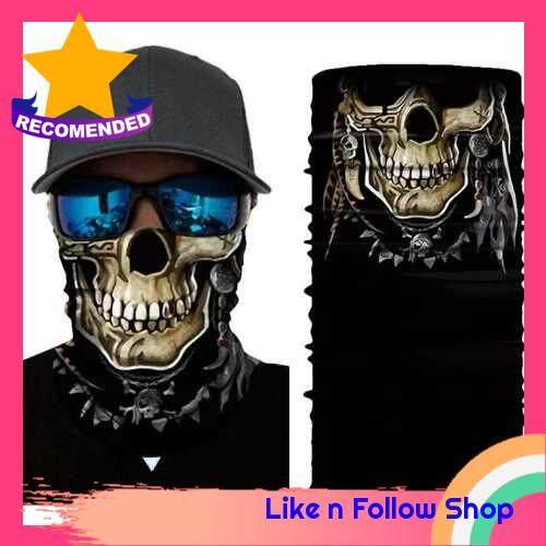Cool Robot Mask Scarf Joker Headband Balaclavas for Cycling Fishing Ski Motorcycle AC372 (9)