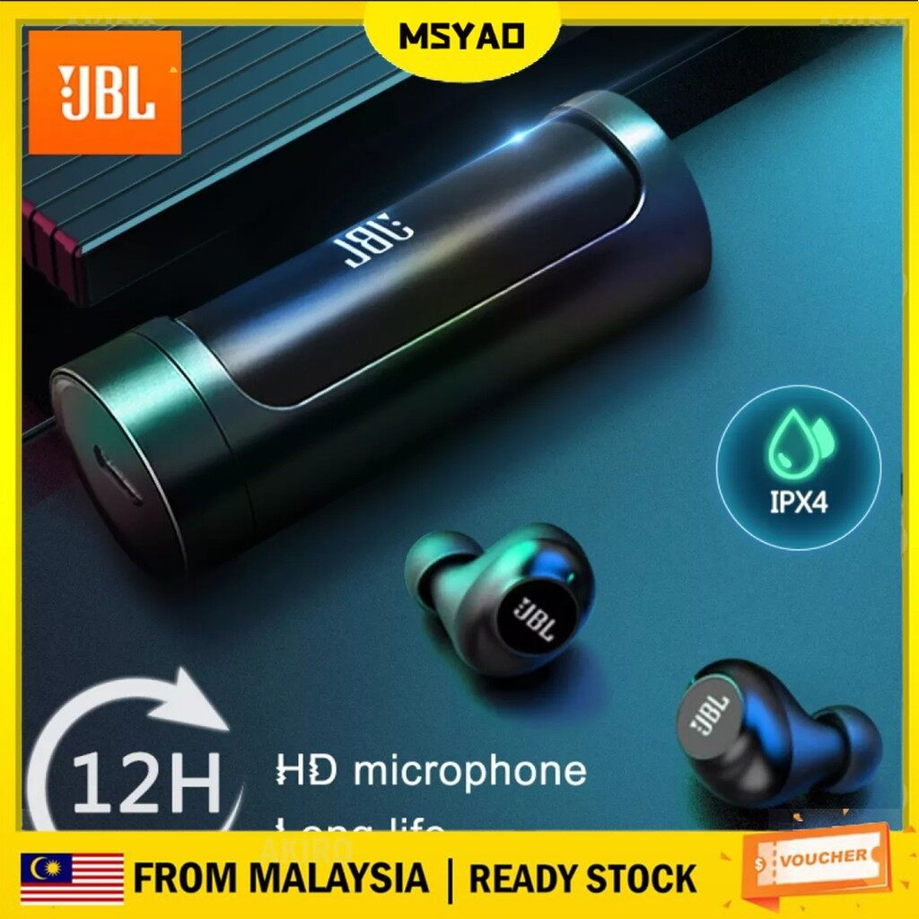 【Ready Stock in Malaysia】Bluetooth Earphone 909 wireless TWS Earbuds Gaming Wireless Bluetooth Earphone Smart Touch Stereo Earbud Headset With Charging Box For iPhone Android Huawei Xiaomi Samsung OPPO Vivo