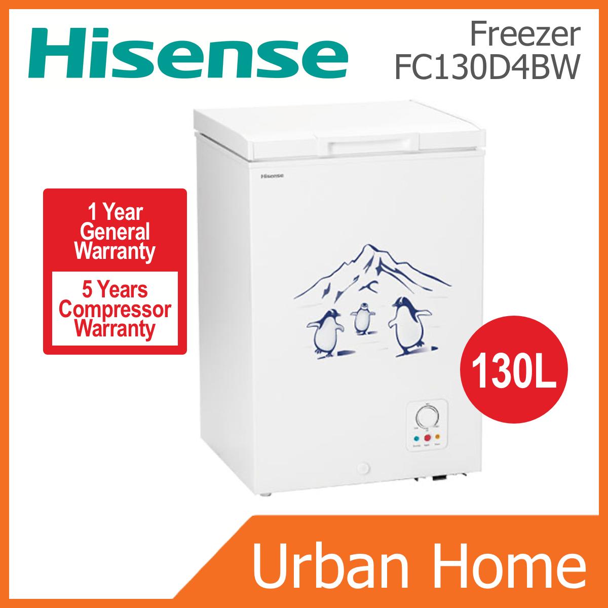 HISENSE 130L Chest Freezer Peti Ais Sejuk Beku (FC130D4BW/FC130)