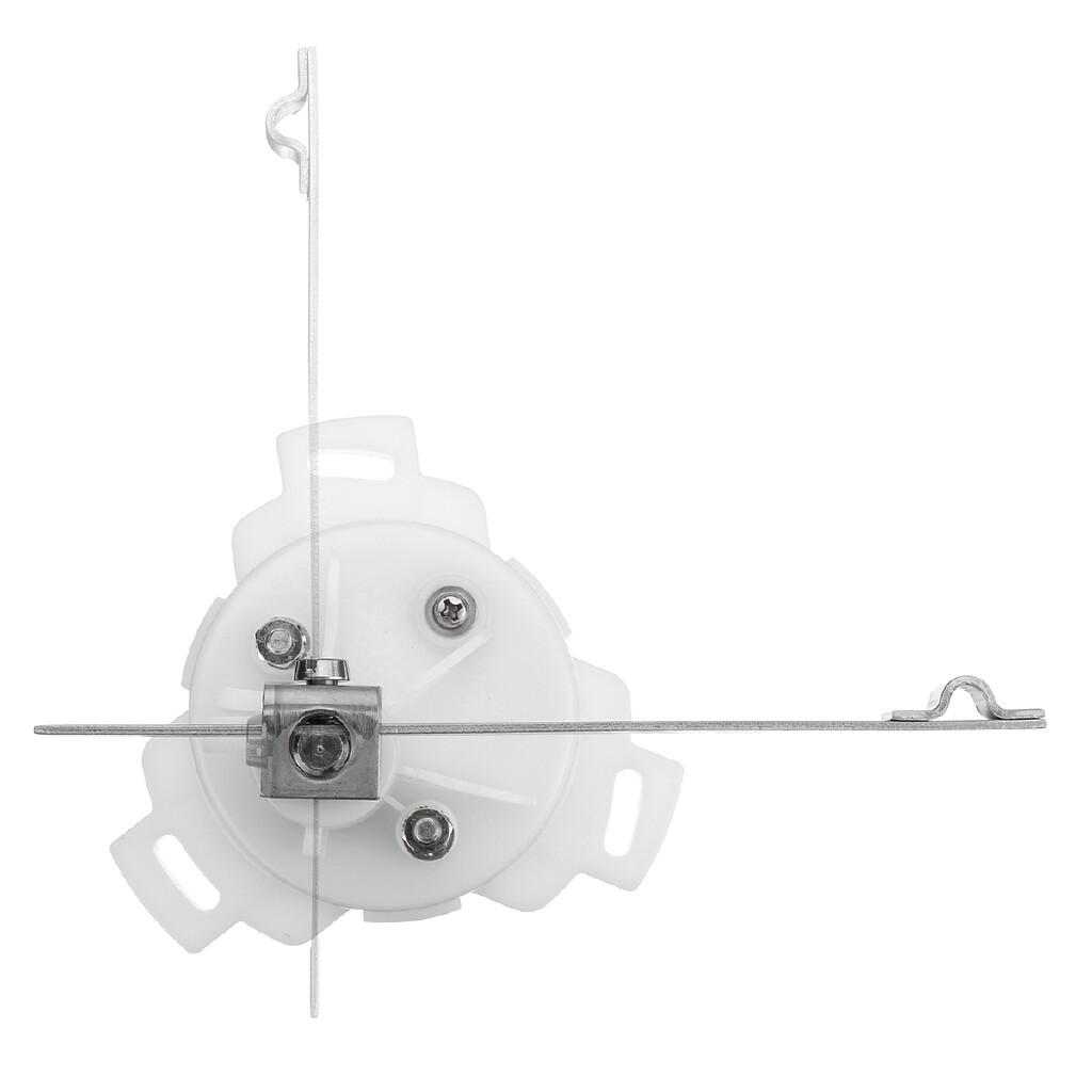 Moto Spare Parts - KUS 12V/24V Stainless Steel Rudder Angle Indicator Gauge Sensor For Marine Boat - Motorcycles, & Accessories