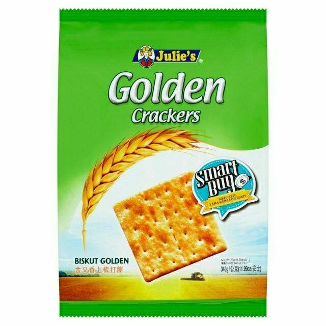 Julie's Golden Crackers (368g)