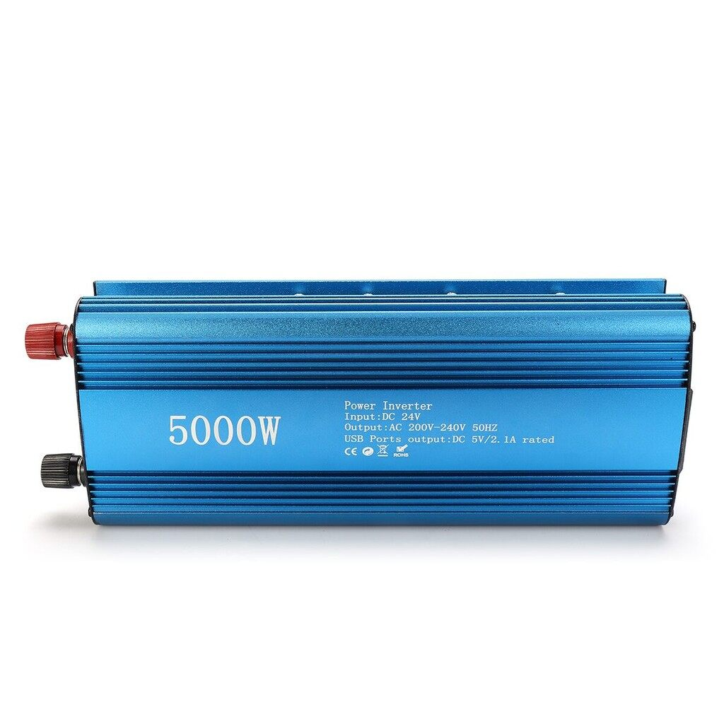 Motorcycles, Parts & Accessories - LED Solar Power Inverter DC 12/24V to AC 220V Modified Sine Wave Converter - 24~220V / 12~220V