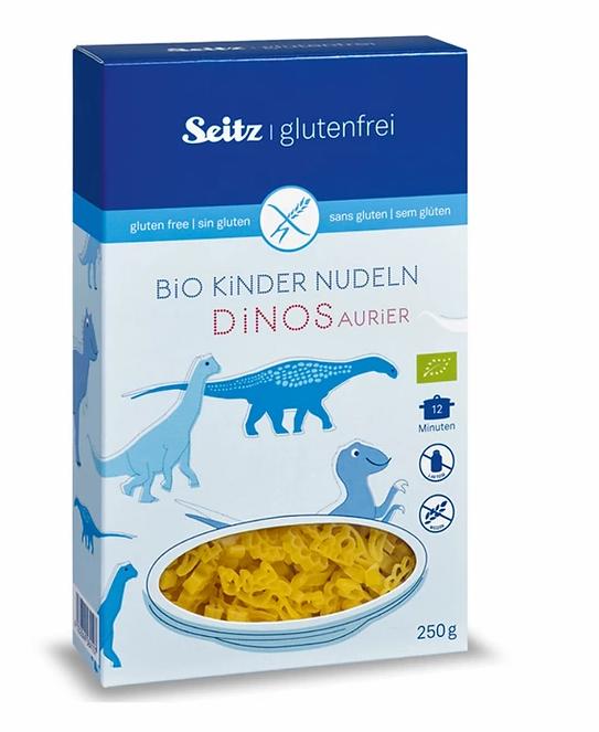 【Seitz glutenfrei】Bio Kinder Nudeln Dinos Aurier - 250g