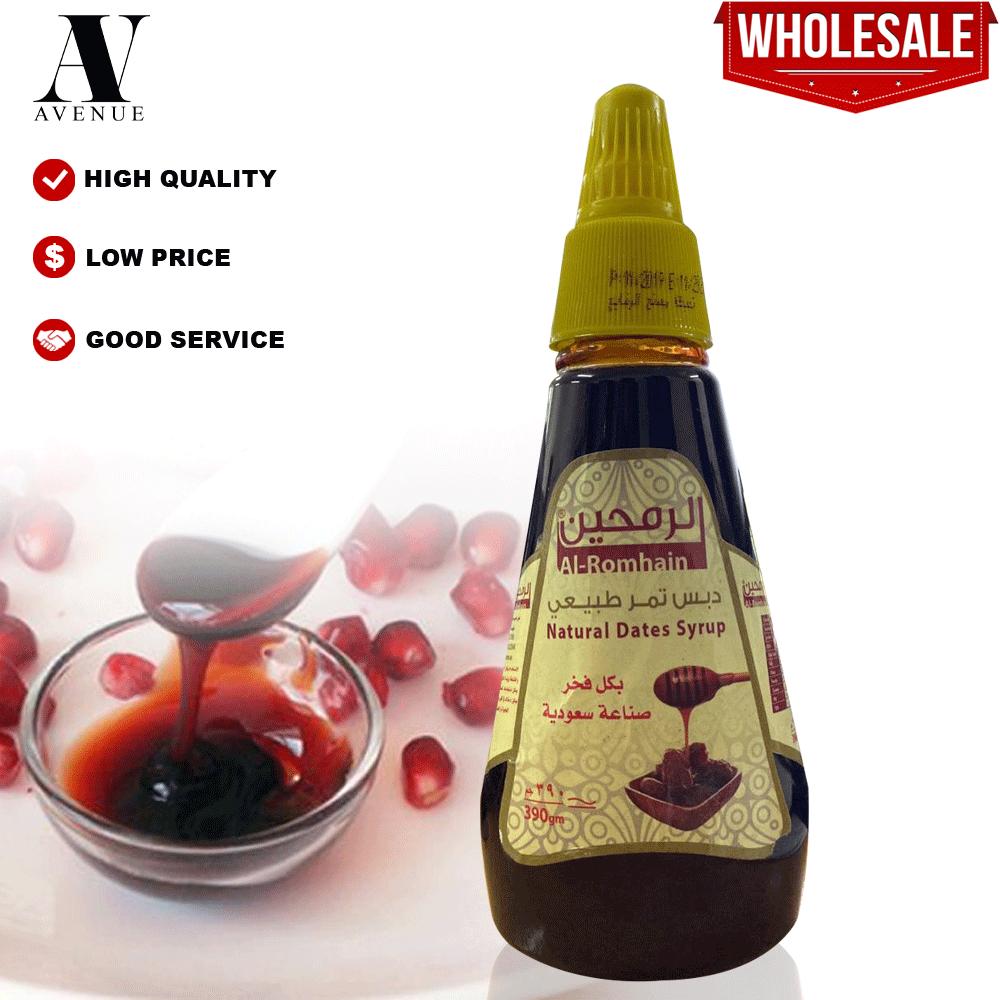 Al-romhain Debs Pomegranate Saudi 390 - Natural Dates Syrup دبس تمر طبيعي