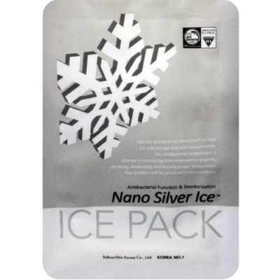 Reusable Nano Silver Ice Pack - 1pc