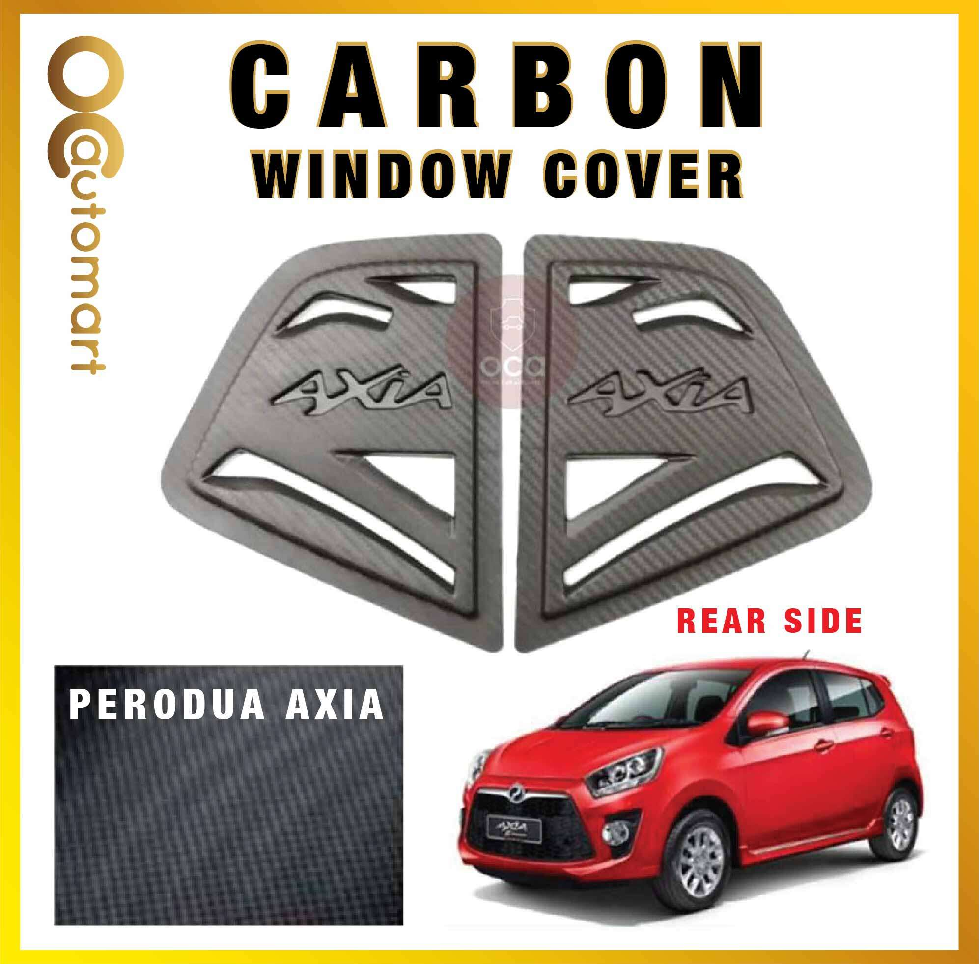 Rear Side Window Cover for Perodua Axia