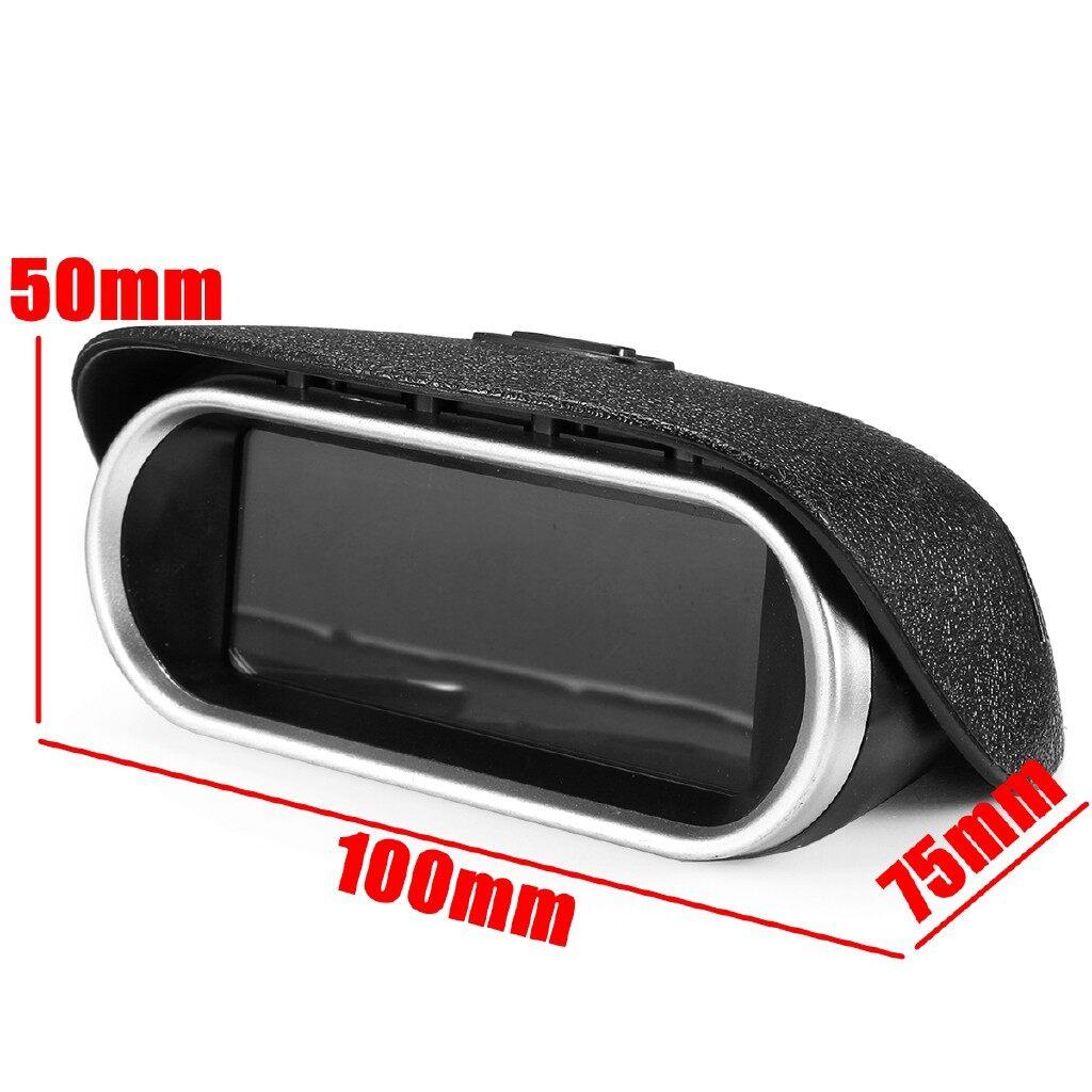 Gauges & Meters - 9-36V 2in1 LCD Car Digital Gauge Oil/Water Temperature Meter + 1/8 NPT Sensor - Car Accessories