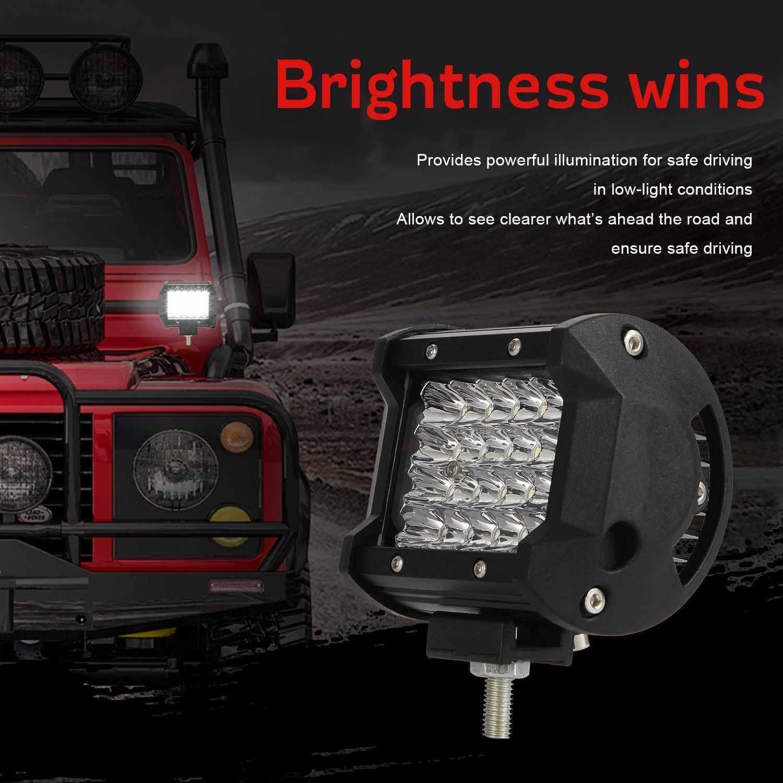 Best Selling Work Light 4inch Headlight Spotlight 20 LED Flood Lights Led-Fog Light Off-road IP65 Waterproof 6000K White - Off-Road Motorcycle SUV ATV UTV Truck (1)