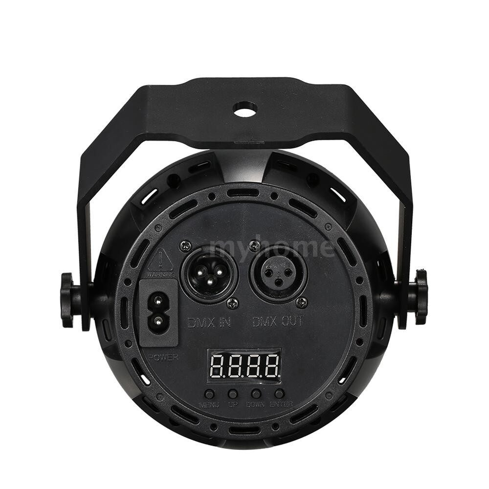 Lighting - AC90-240V 30W 18 LED MINI RGB Stage Par Light Supported Sound Activated Auto Run DMX512 Control for - Home & Living
