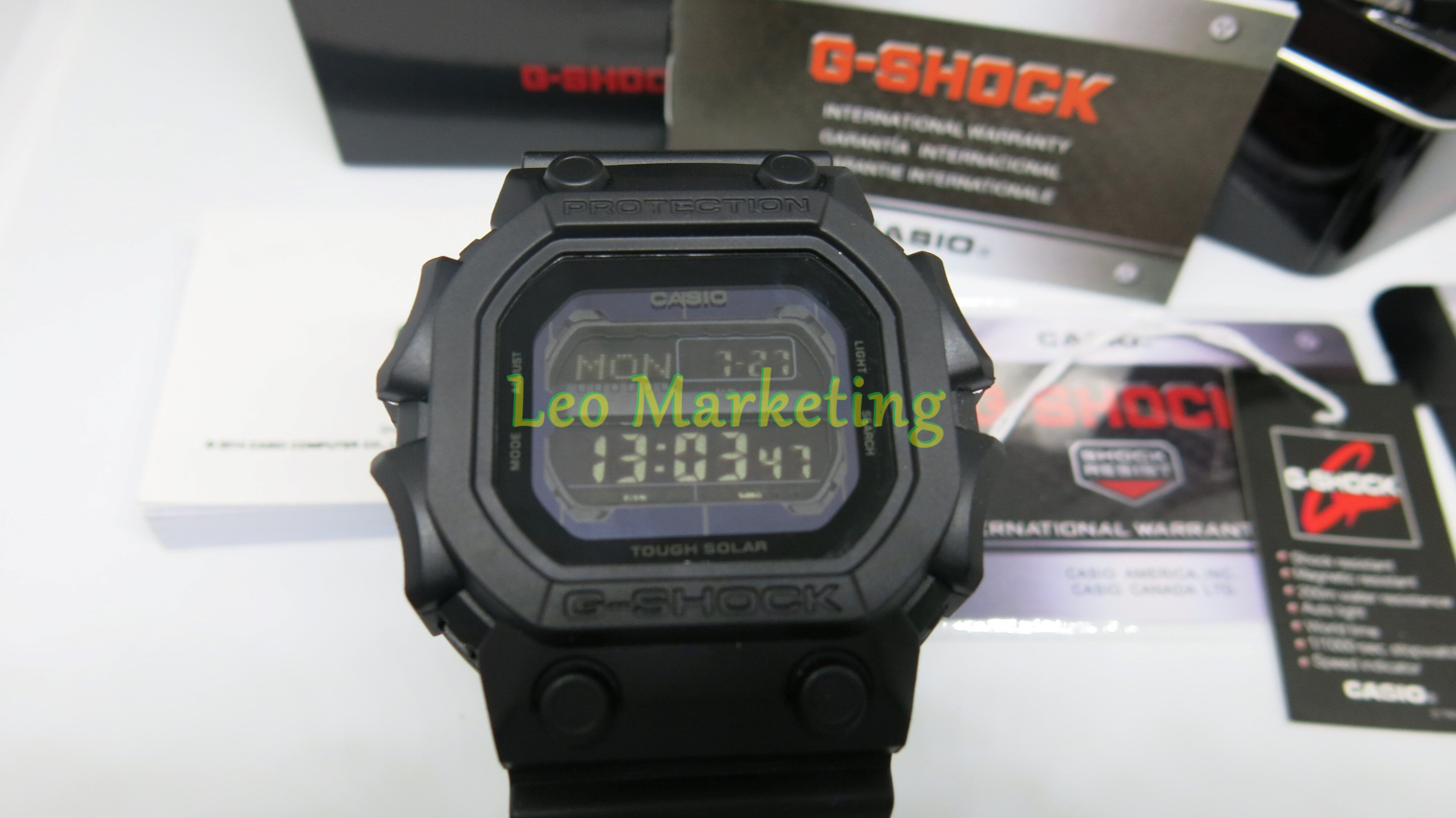 Leo Marketing 100%Original New Fashion Casi o G Sh0ck King Digital Time Display Design Shock Resistant 200m Water Resistant Ready Stock