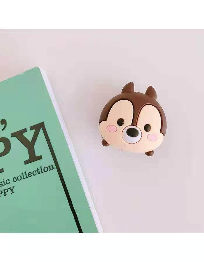Cute chipmunk Cartoon Cable Bite Data Cable Protector