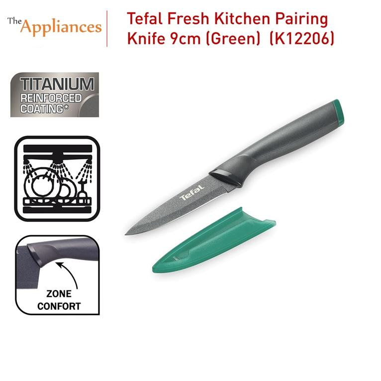 Tefal Fresh Kitchen Pairing Knife Green (9cm)
