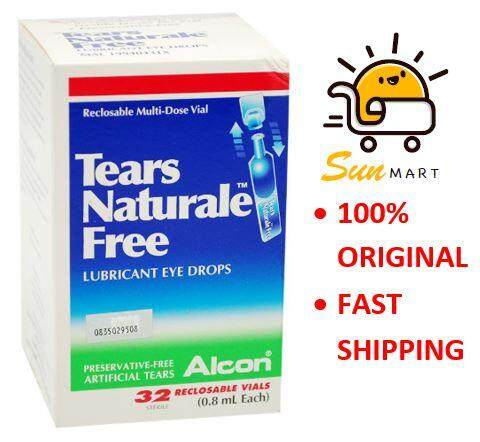 Tears Naturale Free Eye Drops 0.8ml X 32
