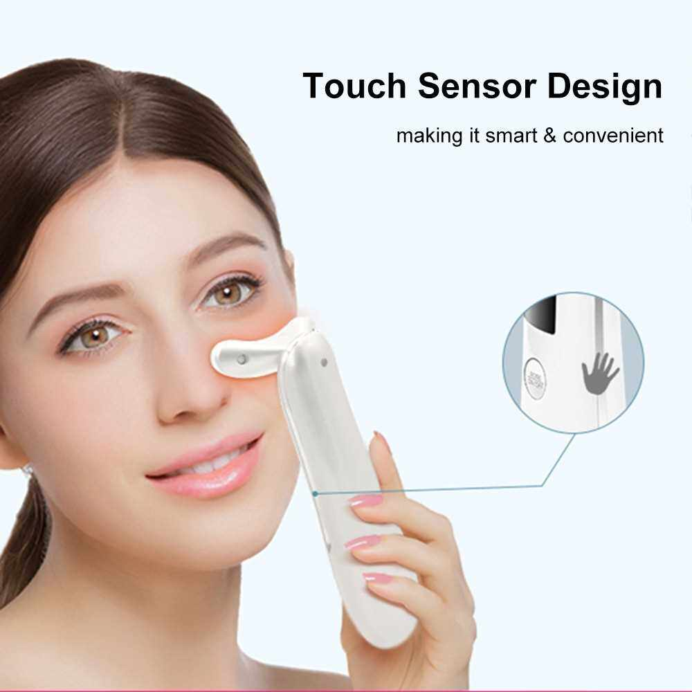 Multi-functional Facial Massager 3 in 1 Face Cleaner Lifting Machine Facial Skin Beauty Instrument with 3 Modes & LED 3 Colors Photon Rejuvenation Therapy Lift & Firm Tighten Skin Reduce Wrinkles Skin Care Beauty Tool (Rose Gold)