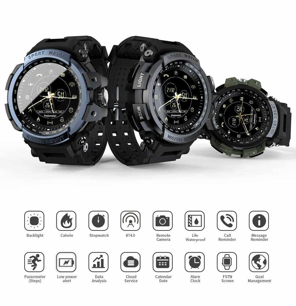 LOKMAT MK28 Smart Watch (Black)