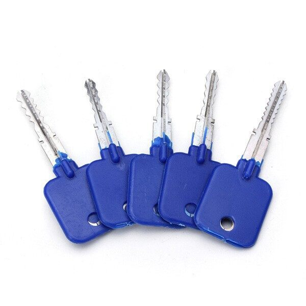 Cool Gadgets - 5 PIECE(s) Lock Repairing Tools Locksmith Try-Out Keys SET for CroDB - Mobile & Accessories