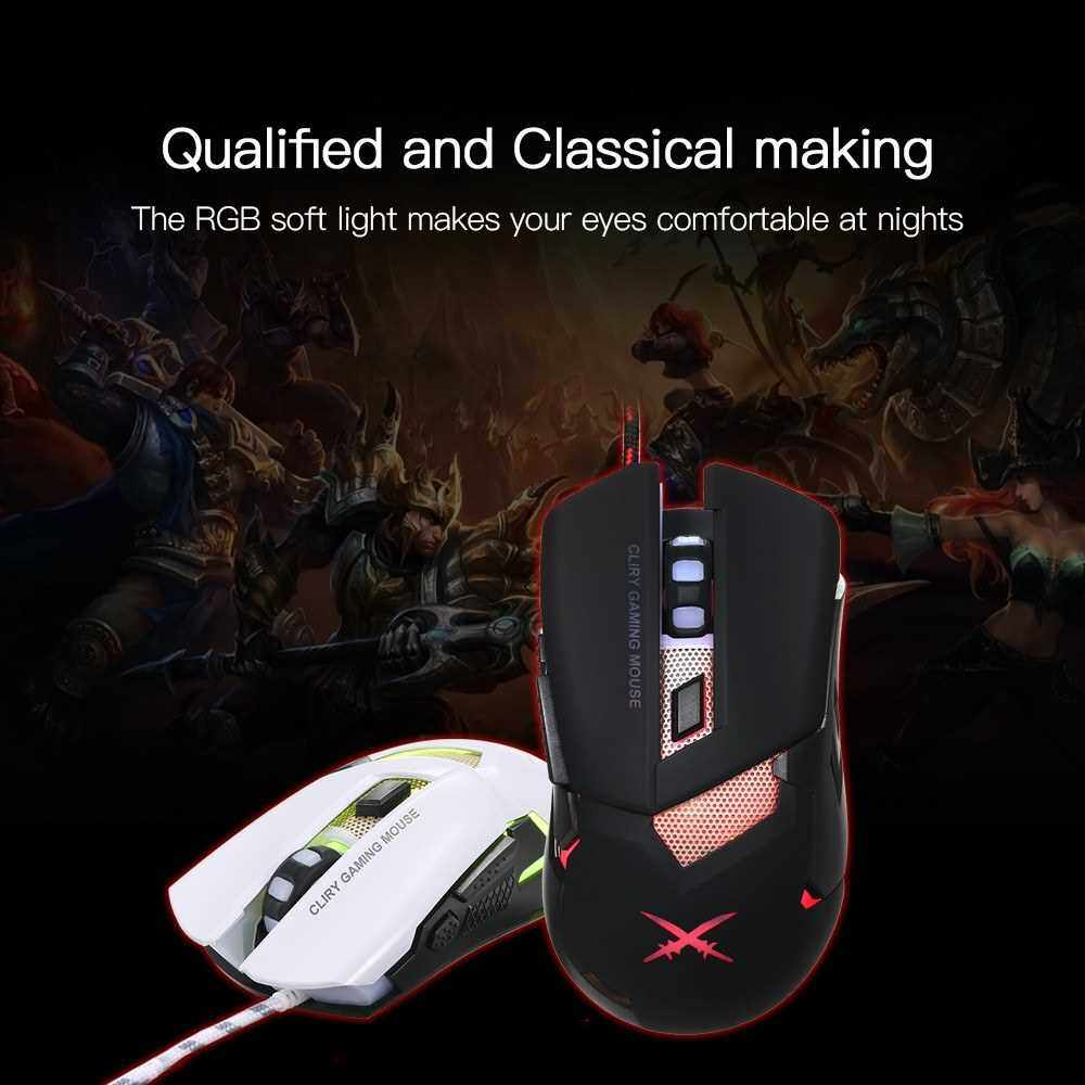 Best Selling Gaming Mouse Wired RGB Ergonomic Game Mouse USB Computer Mice PC Laptop Gaming Mouse With Low Noise(Black and Golden) (Bg)
