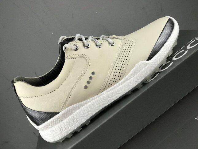 Giày Chơi Golf Ecco2020 Cho Nam, Giày Thể Thao Ngoài Trời Tiện Dụng Có Đinh Cố Định, Bằng Da, Thoáng Khí, Kiểu Mới, Jianbu giá rẻ
