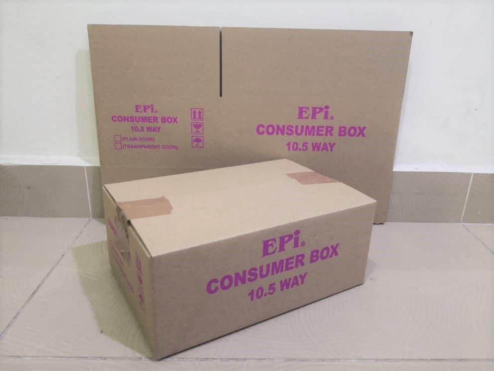 10pcs Printed Carton Boxes (L266 x W178 x H108mm)