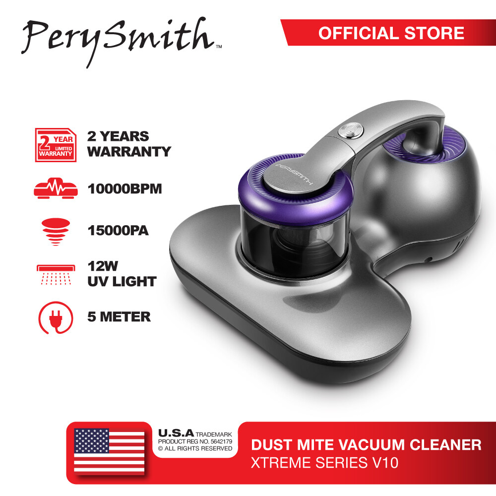 PerySmith 700W Dust Mite Vacuum Cleaner XTREME Series V10 (H...