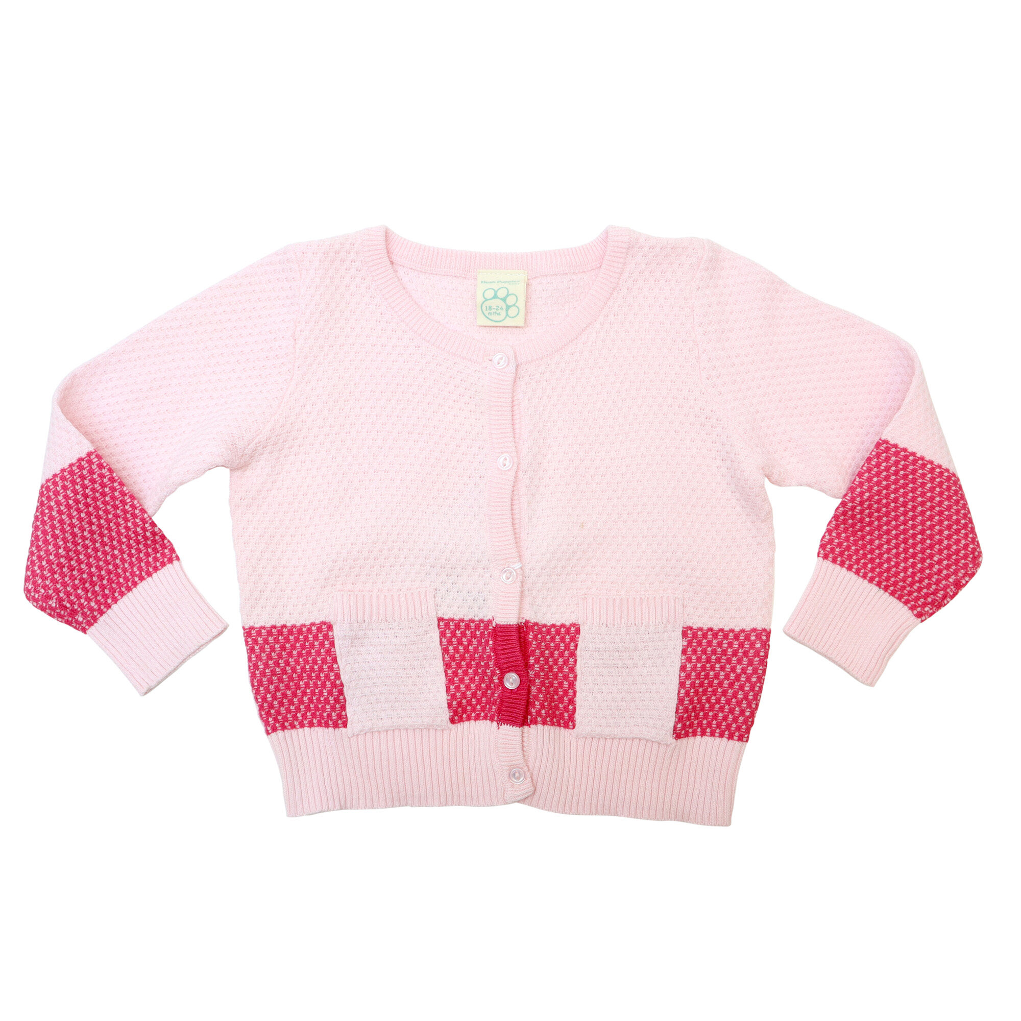 Hush Puppies Baby's Precious Girl Long Sleeve Cardigan  HFO772703