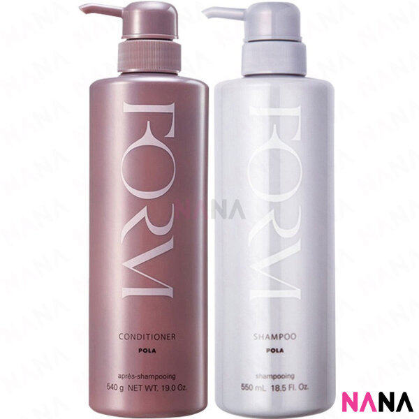 Buy Pola Form Set (Shampoo + Emollient Conditioner) 550ml + 540g Singapore