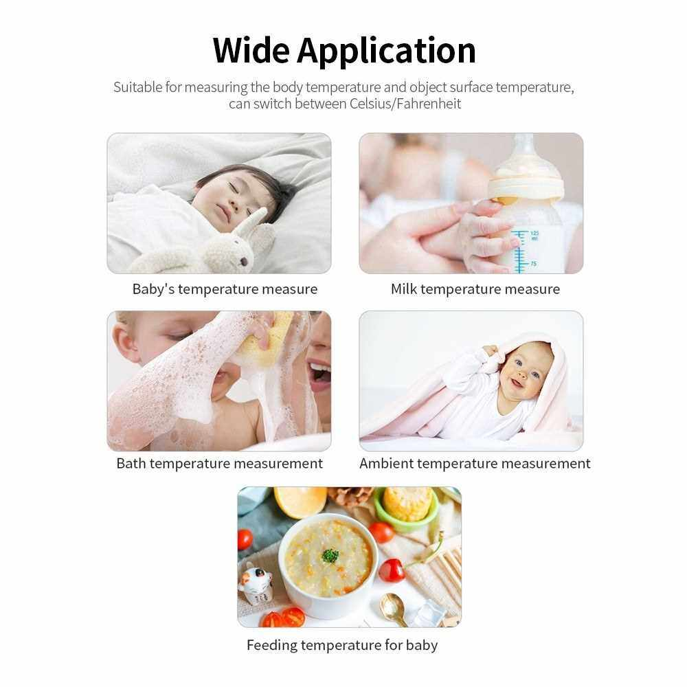 Handheld Electronic Thermometer Portable Forehead Thermometer High Precision Infrared Thermometer Non-contact Thermometer (Standard)
