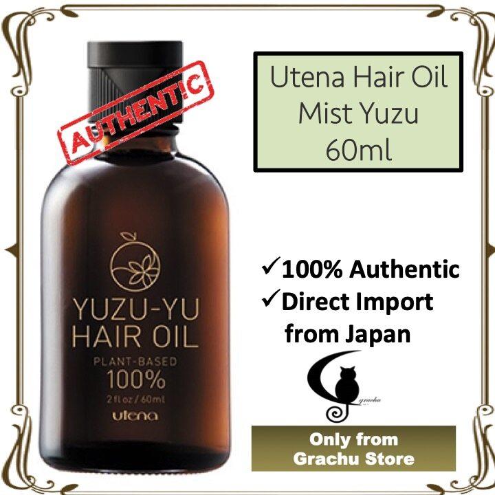 Utena Hair Oil Mist Yuzu 60ml - Original from Japan (READY STOCK)