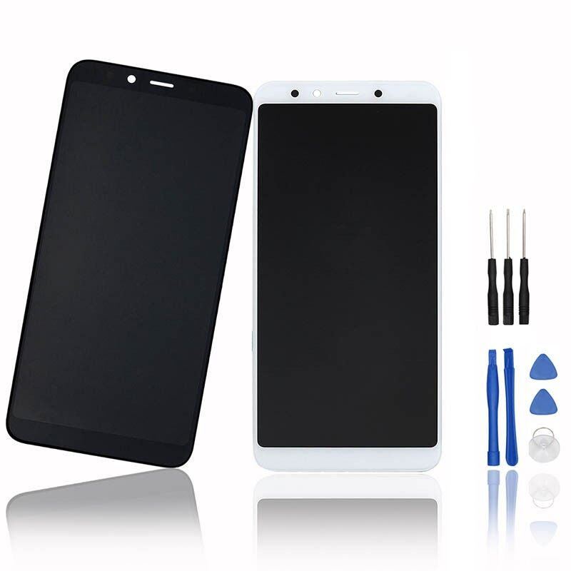 For XiaoMi Mi 6X LCD Display and Touch Screen Digitizer Assembly Replacement Wit - BLACK / WHITE