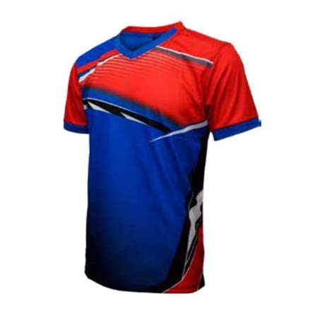 ESPANA Unisex Junior Colour Sublimation Jersey ESP10J (Red/Blue)