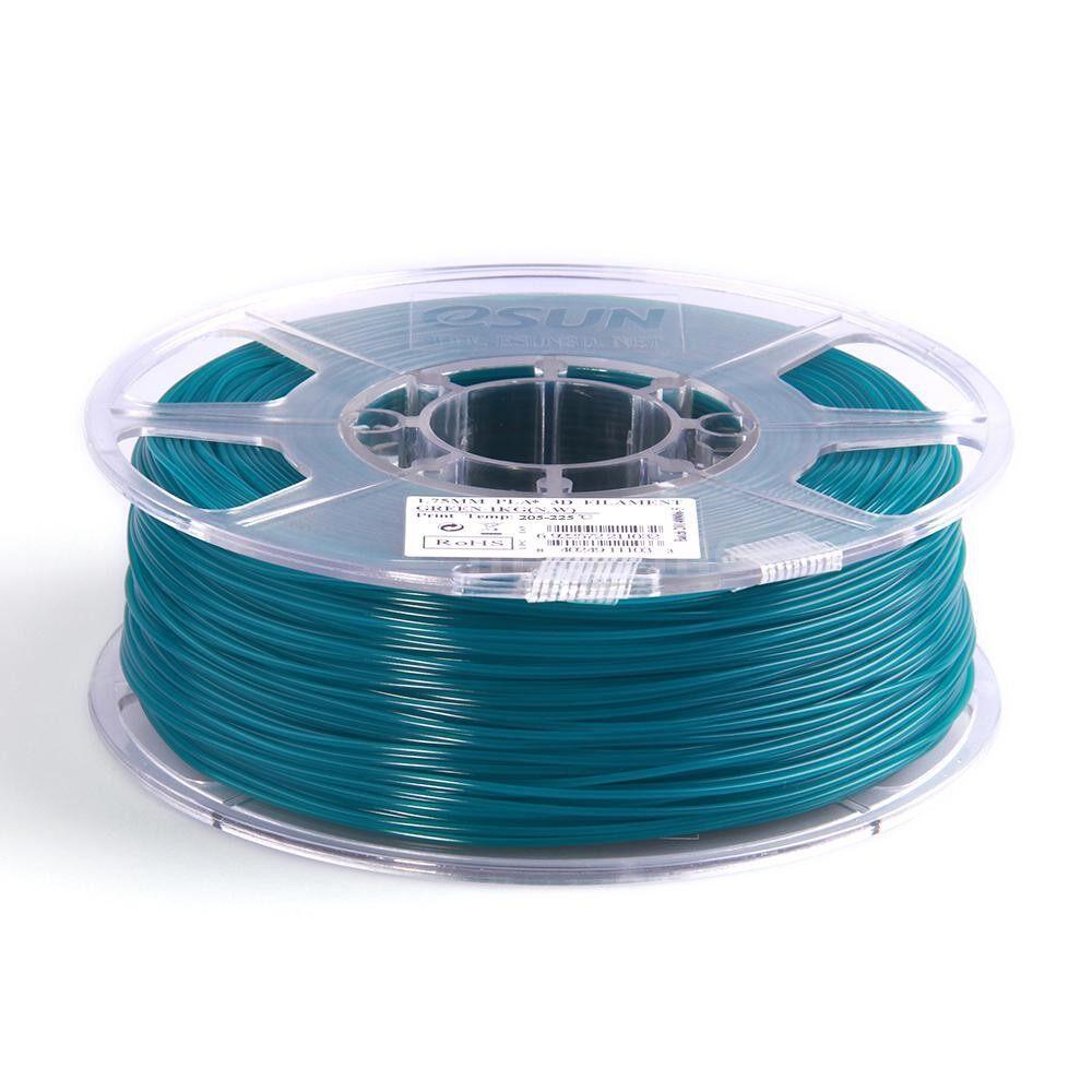 Printers & Projectors - PLA+ 1.75mm Green 3D Printer Filament Corn Grain Refining Material 1KG Spool (2.2lbs) - GREEN / BLUE / WHITE / YELLOW / RED / BLACK