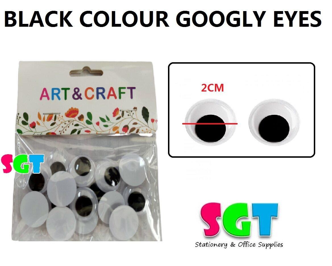 Black Googly Eyes