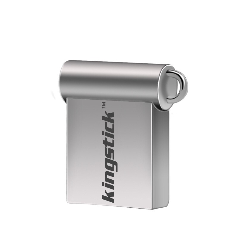 OTG USB - Kingstick XC-USB-KK-24 USB 2.0 32GB 64GB MINI USB Flash Drive - SILVER-32GB / SILVER-64GB
