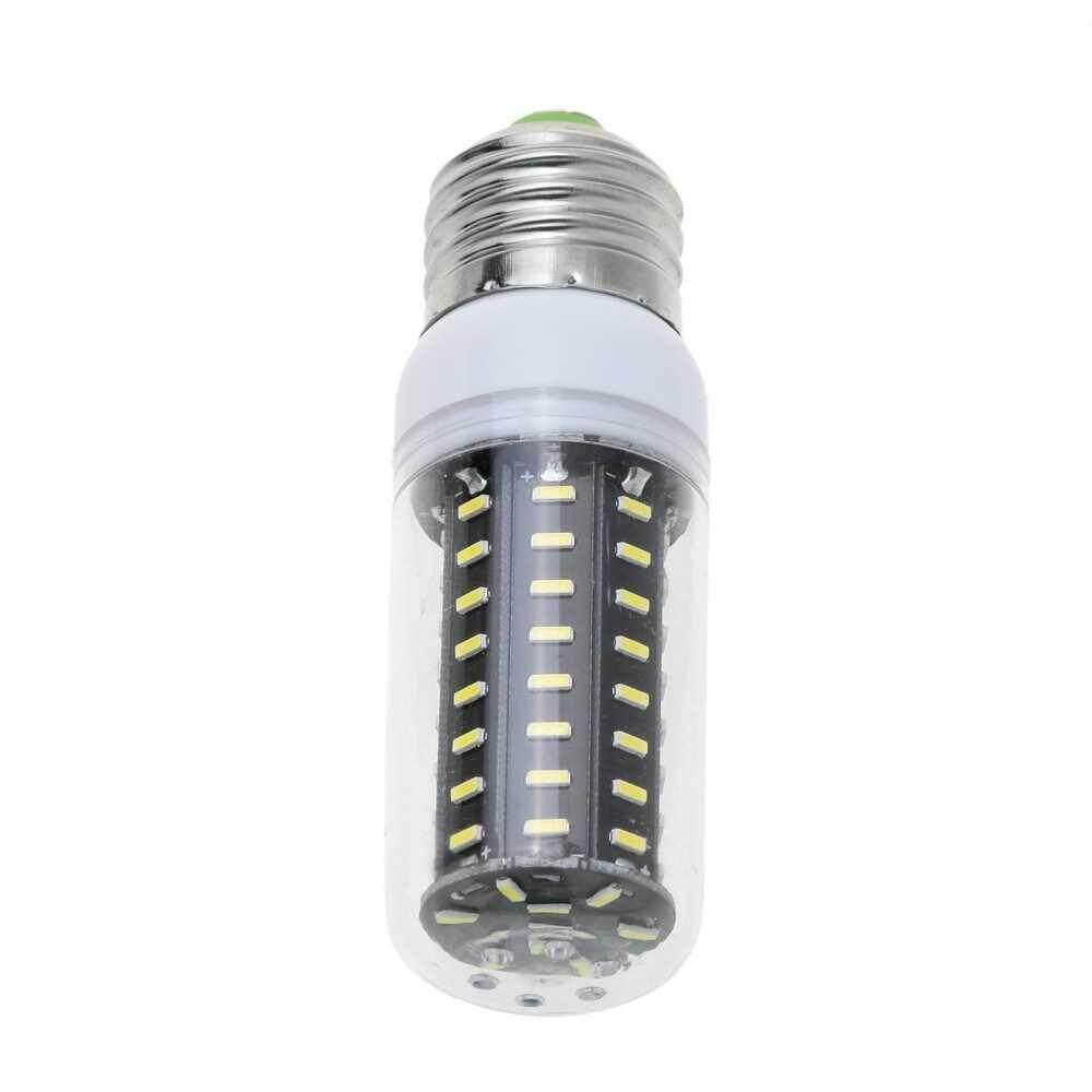People's Choice Lixada E27 4014 SMD 220-240V Real Power 5W 72 LED Corn Light Energy Saving Lamp Bulb