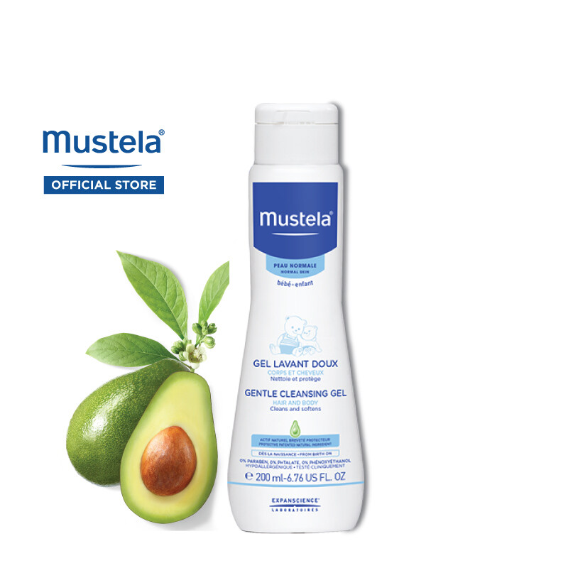 MUSTELA Gentle Cleansing Gel for Normal Skin (200ml)