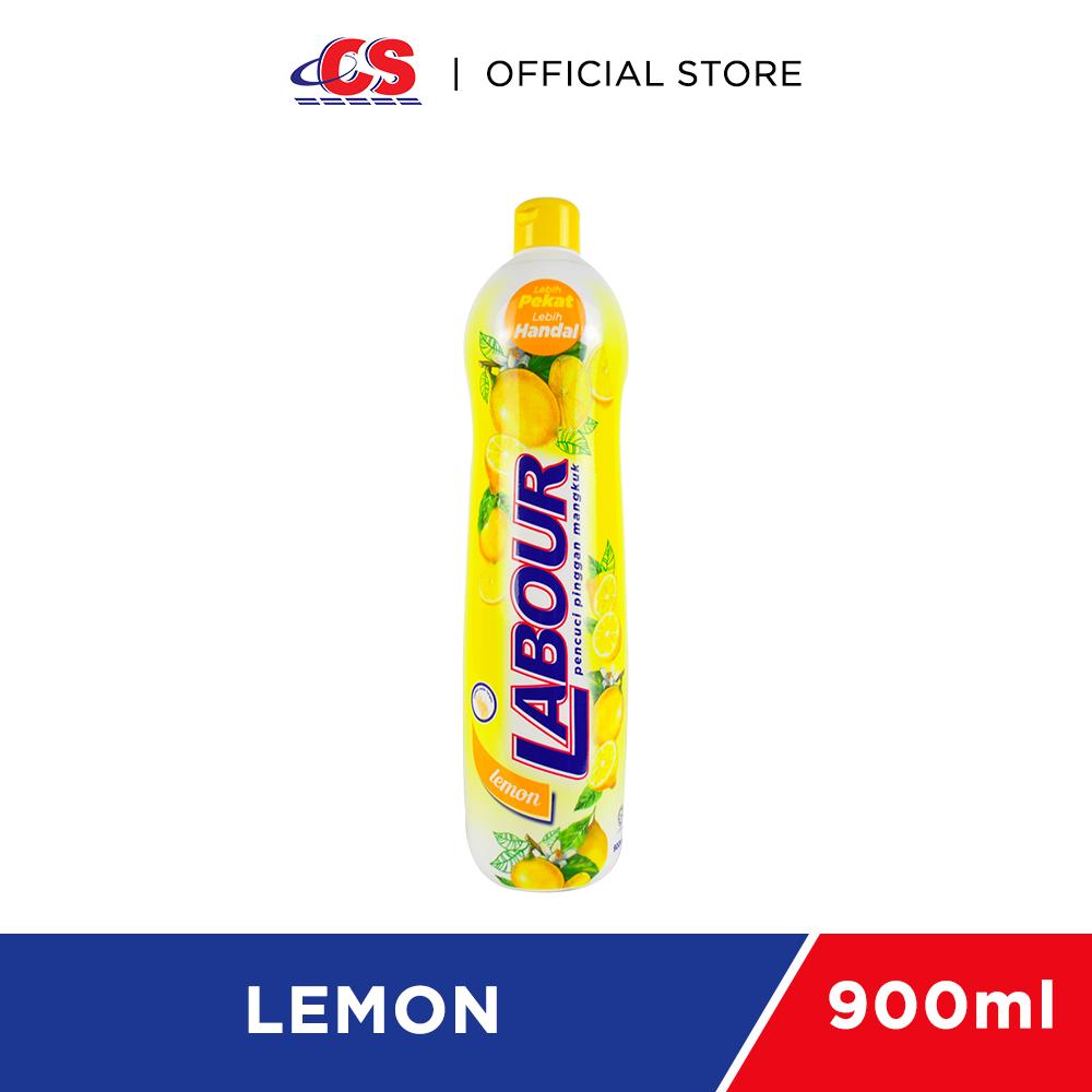 LABOUR Liquid Dishwash Lemon 900ml