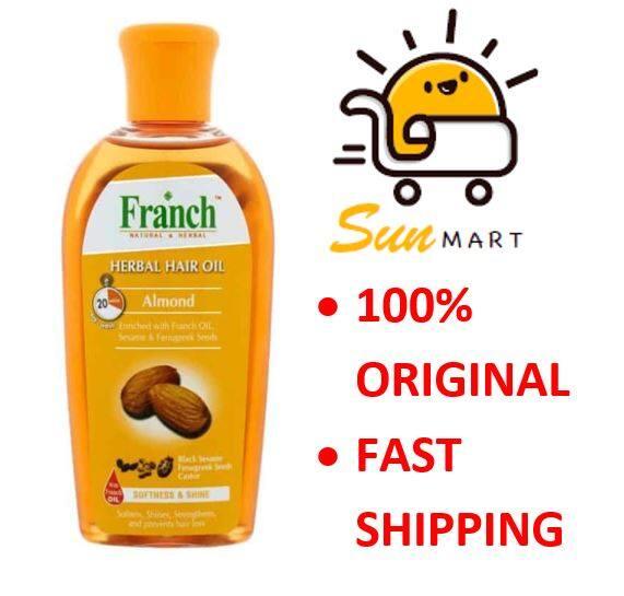 FRANCH HERBAL HAIR OIL ALMOND 200ML
