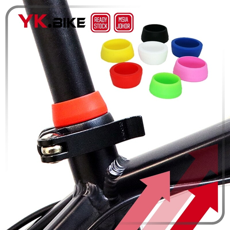 YKBIKE [LOCAL Ready Stock] Bike Silicone Seatpost Ring Waterproof Dust Cover Protective Bicycle Seat Post Rubber Ring OTR45