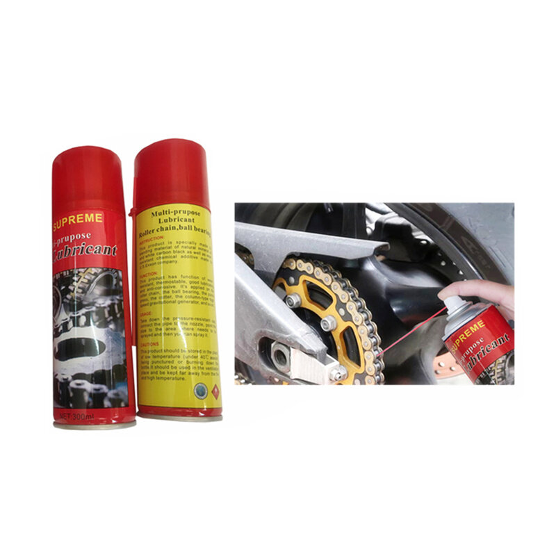 YKBIKE [LOCAL READY STOCK] Moto Lubricant Bicycle Chain Lubricating 300ml Chain Protection Motocycle Anti Rust OTR66