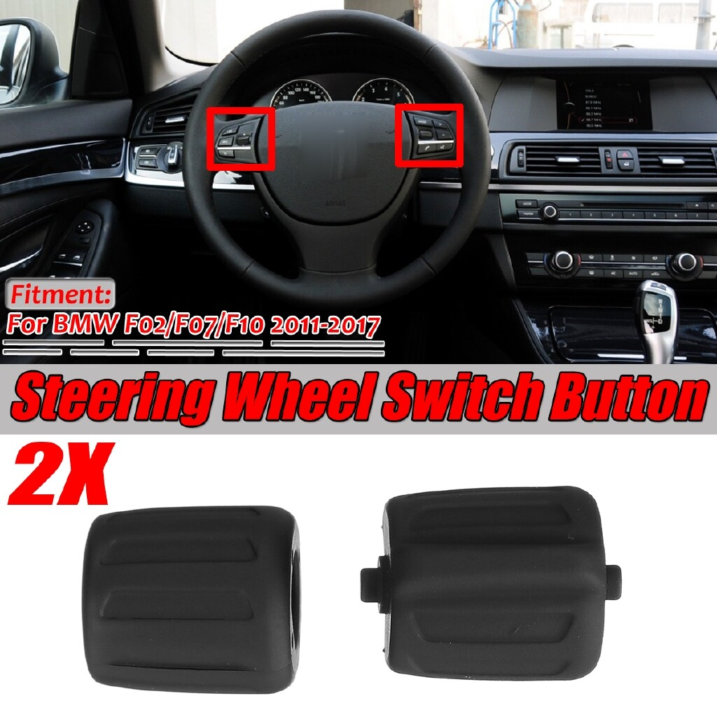Car Accessories - For BMW F02 F07 F10 2011-2017 Steering Wheel Switch Button Left + Right - Automotive