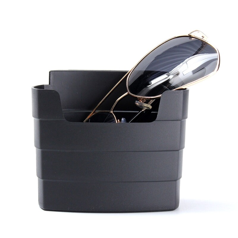 Car Accessories - Universal Car Mobile Phone French Fry Cup Glasses Organizer Storage Box Holder - Automotive