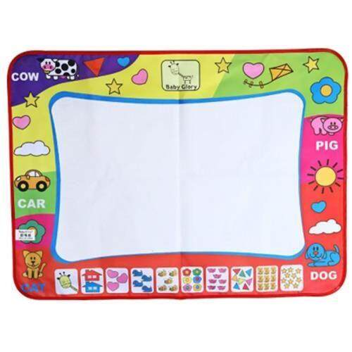 DRAWING MAT WITH MAGIC PEN (WHITE + PINK + BLUE)